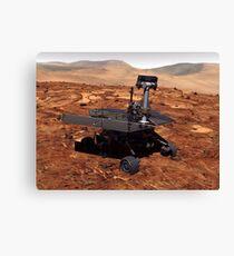 Künstler-Wiedergabe von Mars Rover Leinwanddruck