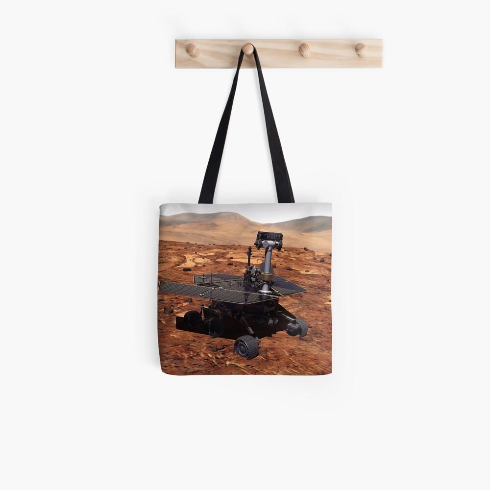 Künstler-Wiedergabe von Mars Rover Stofftasche