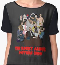 The Rocky Archer Picture Show Women's Chiffon Top