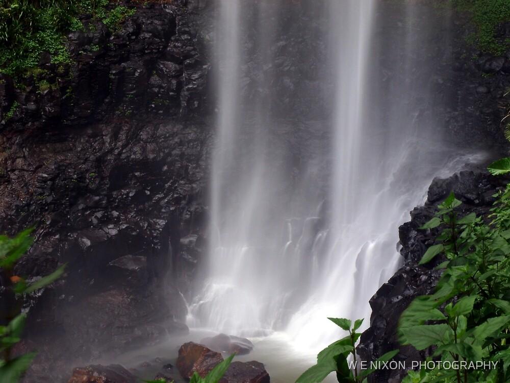 Whispering Waterfalls by W E NIXON  PHOTOGRAPHY