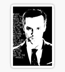 james moriarty Sticker