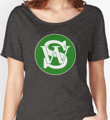 Wisconsin Skinny Pride Green Women's Relaxed Fit T-Shirt
