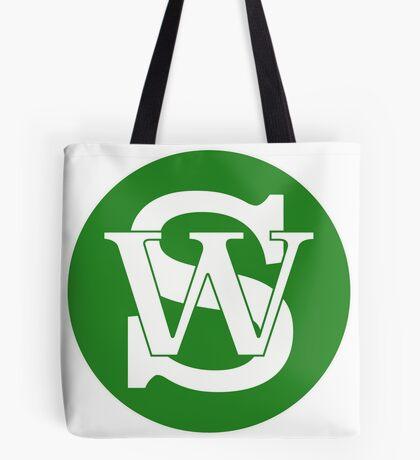 Wisconsin Skinny Pride Green Tote Bag
