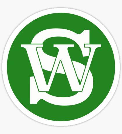 Wisconsin Skinny Pride Green Sticker