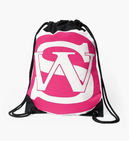 Wisconsin Skinny Pride Pink Drawstring Bag