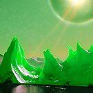 Emerald Ice City by fullpruf