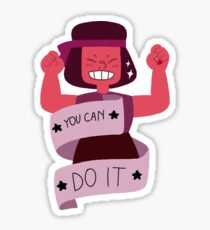 Steven Universe Positivity - Ruby Sticker