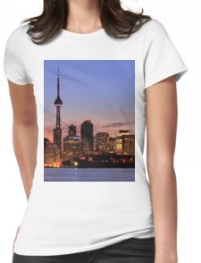 Toronto by the water Womens Fitted T-Shirt