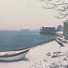 Winter By the Sea by OLIVIA JOY STCLAIRE