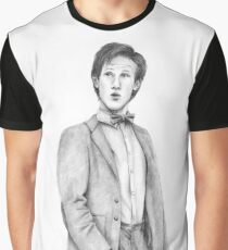 Doctor Who - Pencil Drawing Graphic T-Shirt