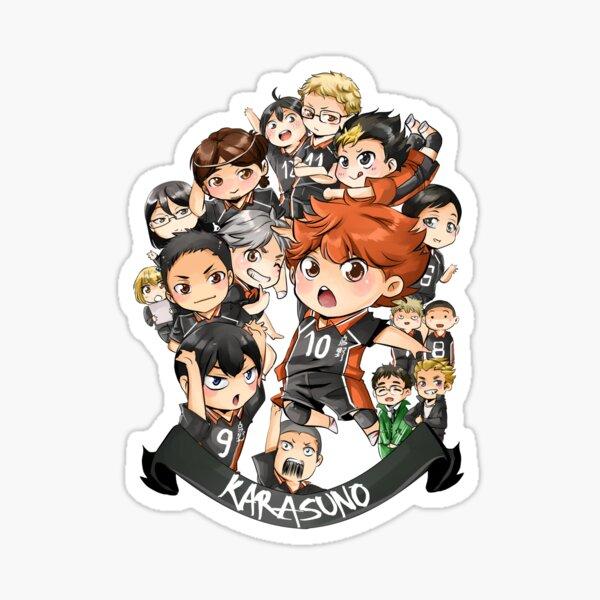 Team Karasuno Pegatina