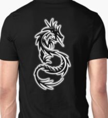 Dragon, Eastern, Chinese, China, Tattoo. on BLACK T-Shirt