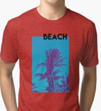BEACH PALM PHOTOGRAPHY Tri-blend T-Shirt