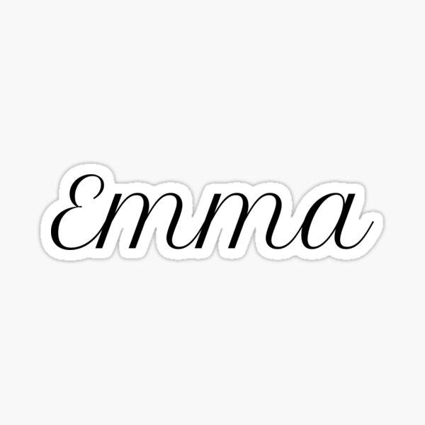 Emma Stickers | Redbubble