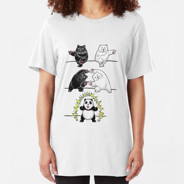 Panda Fusion Slim Fit T-Shirt