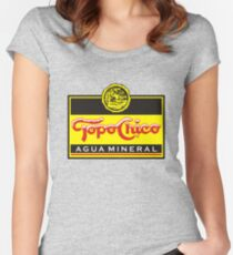 Topo Chico - Sparkling Mineral Water Women's Fitted Scoop T-Shirt
