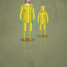 8-Bit TV Breaking Bad by capdeville13
