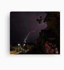 Welsh Lightning Canvas Print