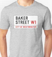 Baker Street Sign – 221B, Sherlock T-Shirt