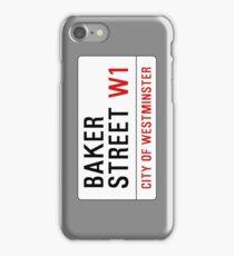 Baker Street Sign – 221B, Sherlock iPhone Case/Skin