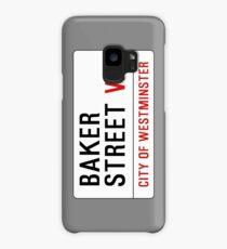 Baker Street Sign – 221B, Sherlock Case/Skin for Samsung Galaxy