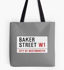 Baker Street Sign – 221B, Sherlock Tote Bag