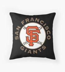 San Francisco Giants Throw Pillow