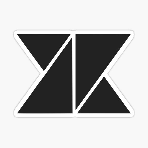 KNK black logo Sticker