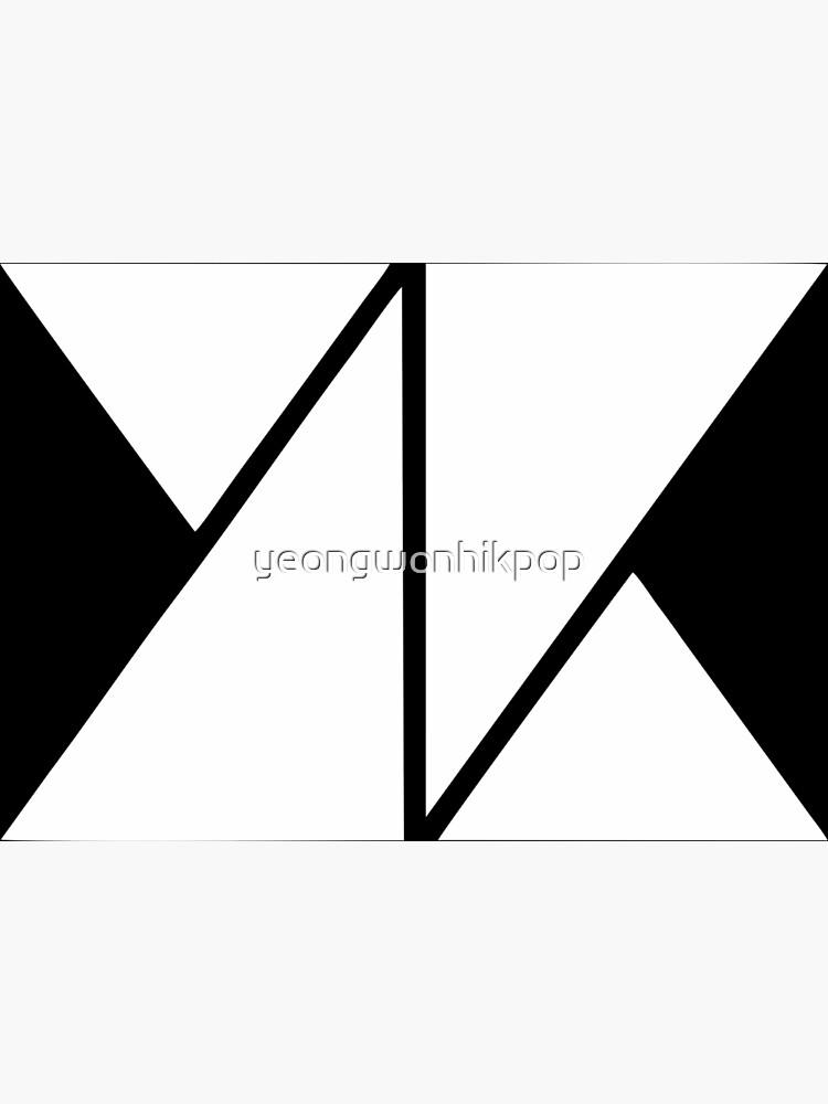 knk white logo by yeongwonhikpop