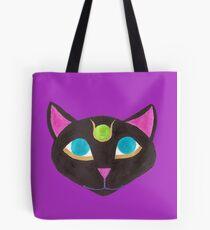 Black Egyptian Cat Tote Bag