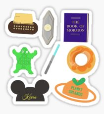 Book of Mormon sticker PACK Sticker