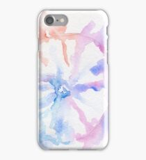 watercolour flower iPhone Case/Skin