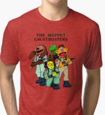 Muppet Ghostbusters Tri-blend T-Shirt
