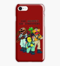 Muppet Ghostbusters iPhone Case/Skin