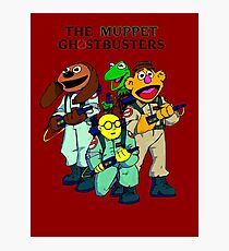 Muppet Ghostbusters Photographic Print