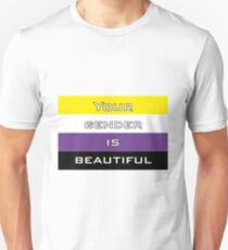 Gender is Beautiful Nonbinary Unisex T-Shirt