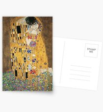 the kiss   gustav klimt Postcards