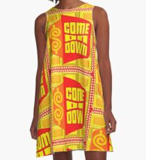 TV Game Show Swag - TPIR (The Price Is...) A-Line Dress