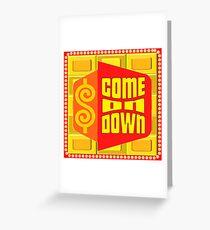 TV Spielshow Swag - TPIR (Der Preis ist ...) Grußkarte
