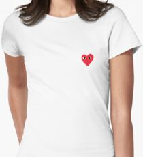 Comme Des Garcons - Play Womens Fitted T-Shirt