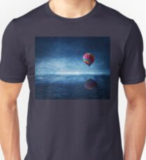fly over the sea Unisex T-Shirt