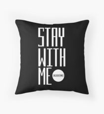 blackpink - stay with me Throw Pillow