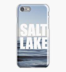 Salt Lake - Blue Rhapsody iPhone Case/Skin