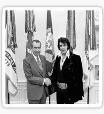 Elvis Meeting Nixon (1970) Sticker