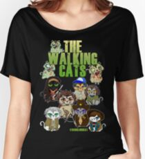 THE WALKING CATS Women's Relaxed Fit T-Shirt