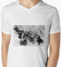 Splattered Men's V-Neck T-Shirt