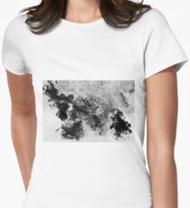 Splattered Women's Fitted T-Shirt