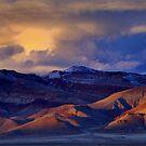 Palomino Valley Winter Sunset  by SB  Sullivan