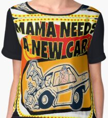 TV Game Show - TPIR (The Price Is...) New Car Women's Chiffon Top