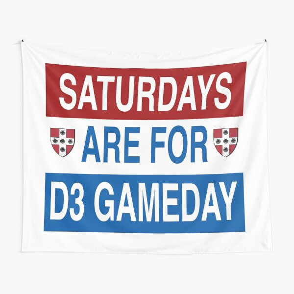 Saturdays Are For D3 Gameday Tapestry